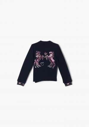 Lány pulóver